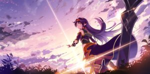 Rating: Safe Score: 51 Tags: konno_yuuki kyokucho pointy_ears sword sword_art_online User: Mr_GT