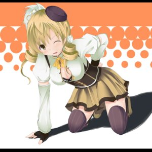 Rating: Safe Score: 26 Tags: bra cleavage horayama puella_magi_madoka_magica thighhighs tomoe_mami User: Radioactive