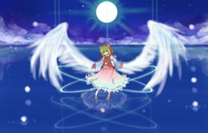 Rating: Safe Score: 4 Tags: dress gengetsu razujamu touhou wings User: charunetra