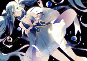Rating: Safe Score: 22 Tags: dress garter hatsune_miku vocaloid yuki_miku zhibuji_loom User: saemonnokami