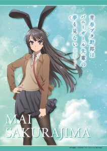 Rating: Safe Score: 26 Tags: animal_ears bunny_ears pantyhose sakurajima_mai seifuku seishun_buta_yarou_series sweater tagme User: saemonnokami