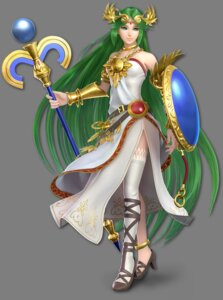 Rating: Questionable Score: 6 Tags: armor dress heels kid_icarus kid_icarus:_uprising nintendo palutena super_smash_bros. thighhighs transparent_png User: fly24