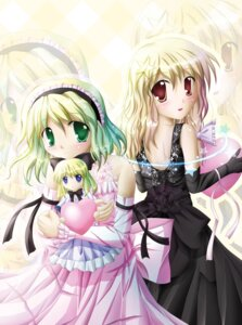 Rating: Safe Score: 4 Tags: alice_margatroid kirisame_marisa lolita_fashion touhou User: Radioactive