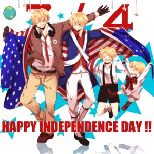 Rating: Safe Score: 6 Tags: america hetalia_axis_powers male sorato_mizutama User: Brufh