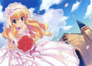 Rating: Safe Score: 47 Tags: dress isurugi_mio mm! ohara_tometa wedding_dress User: petopeto