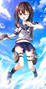 Rating: Safe Score: 61 Tags: fubuki_(kancolle) kantai_collection nikkunemu pantsu seifuku User: KazukiNanako