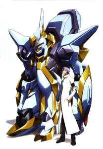 Rating: Safe Score: 7 Tags: code_geass kimura_takahiro lloyd_asplund male mecha nakada_eiji User: Aurelia