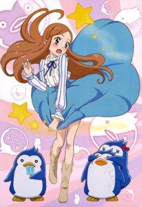Rating: Safe Score: 31 Tags: mawaru_penguindrum penguin skirt_lift sonobe_aiko takakura_himari User: SubaruSumeragi