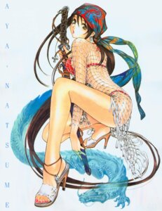 Rating: Safe Score: 34 Tags: bikini natsume_aya oh!_great screening swimsuits sword tenjou_tenge User: charunetra