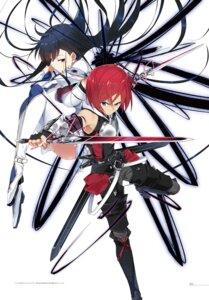 Rating: Safe Score: 33 Tags: armor digital_version kasuga_ayumu_(artist) sword thighhighs User: akagiss