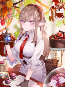 Rating: Safe Score: 18 Tags: blood maid pointy_ears yuuki_kira User: Mr_GT