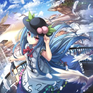Rating: Safe Score: 38 Tags: hinanawi_tenshi janne_cherry sword touhou User: Mr_GT