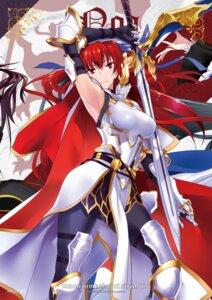 Rating: Questionable Score: 26 Tags: armor kawagishi_keitarou minato_soft pantyhose sword waga_himegimi_ni_eikan_wo User: moonian