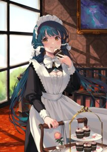 Rating: Safe Score: 43 Tags: cleavage cream kitakami_reika maid nys skirt_lift the_idolm@ster the_idolm@ster_million_live! the_idolm@ster_million_live!_theater_days User: hiroimo2