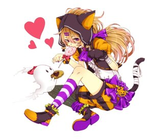 Rating: Safe Score: 14 Tags: animal_ears nekomimi sakurato tail User: Radioactive