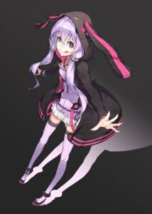 Rating: Safe Score: 31 Tags: animal_ears bunny_ears thighhighs vocaloid yucca-612 yuzuki_yukari User: Radioactive