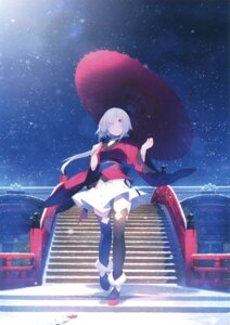 Rating: Safe Score: 70 Tags: japanese_clothes nmaaaaa thighhighs umbrella User: Twinsenzw