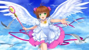 Rating: Safe Score: 23 Tags: card_captor_sakura dress kinomoto_sakura moonknives wings User: demon2