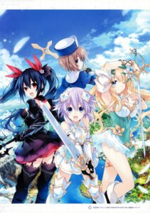 Rating: Safe Score: 26 Tags: blanc choujigen_game_neptune four_goddesses_online:_cyber_dimension_neptune neptune noire tsunako vert User: Radioactive