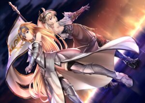 Rating: Safe Score: 49 Tags: armor fate/grand_order granblue_fantasy heels jeanne_d'arc jeanne_d'arc_(fate/apocrypha) jeanne_d'arc_(granblue_fantasy) pak_ce thighhighs User: mash