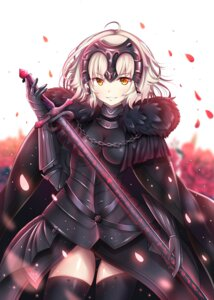 Rating: Safe Score: 23 Tags: armor fate/grand_order jeanne_d'arc jeanne_d'arc_(alter)_(fate) pantsu raku skirt_lift sword thighhighs User: hiroimo2