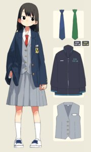 Rating: Safe Score: 9 Tags: character_design kumanoi_(nichols) seifuku User: Radioactive