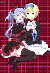 Rating: Safe Score: 52 Tags: amano_arisu dress gothic_lolita heels itou_kurosu lolita_fashion thighhighs twocar yamamoto_akitomo User: drop