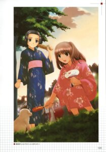 Rating: Safe Score: 6 Tags: kusunose_hina mukai_yako takayama_kisai true_love_story yukata User: Radioactive