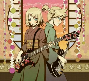 Rating: Safe Score: 13 Tags: guitar kagamine_len kagamine_rin tellme vocaloid User: yumichi-sama