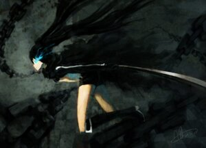 Rating: Safe Score: 11 Tags: black_rock_shooter black_rock_shooter_(character) sword urami vocaloid User: charunetra
