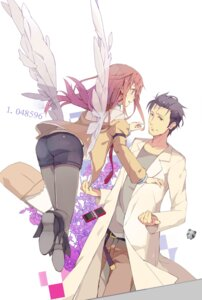 Rating: Safe Score: 26 Tags: evers_i jpeg_artifacts makise_kurisu okabe_rintarou pantyhose steins;gate User: hobbito