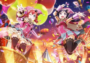 Rating: Safe Score: 24 Tags: kurosawa_ruby love_live!_sunshine!! matsuura_kanan stockings thighhighs User: fly24