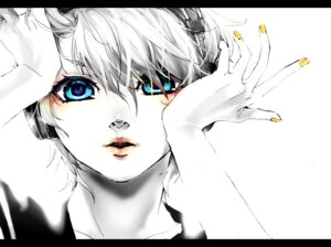Rating: Safe Score: 13 Tags: akiakane kagamine_len male migikata_no_chou_(vocaloid) monochrome vocaloid User: charunetra