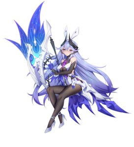 Rating: Questionable Score: 19 Tags: benghuai_xueyuan bodysuit heels honkai_impact horns weapon wu_ganlan_cai User: Dreista