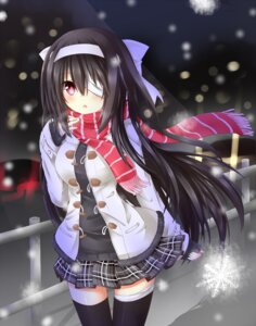 Rating: Safe Score: 54 Tags: bandages eyepatch thighhighs tyaba_neko User: SlenderMan