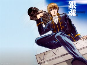 Rating: Safe Score: 6 Tags: gintama gun male okita_sougo User: Davison