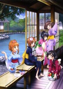 Rating: Safe Score: 31 Tags: akiyama_yukari girls_und_panzer isuzu_hana nishizumi_miho reizei_mako takebe_saori yoshida_nobuyoshi yukata User: drop