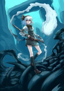 Rating: Safe Score: 21 Tags: konpaku_youmu myon realmbw sword touhou User: Mr_GT