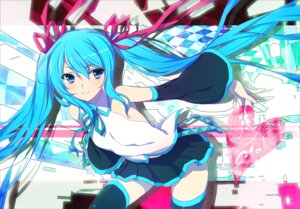 Rating: Safe Score: 39 Tags: 47agdragon hatsune_miku thighhighs vocaloid User: 椎名深夏