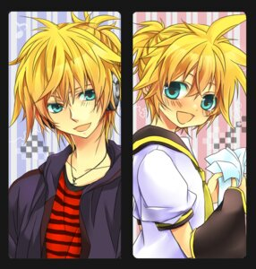 Rating: Safe Score: 9 Tags: headphones kagamine_len male teito vocaloid User: charunetra