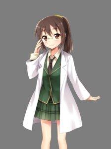 Rating: Safe Score: 28 Tags: boku_wa_tomodachi_ga_sukunai megane seifuku shiguma_rika transparent_png User: saemonnokami
