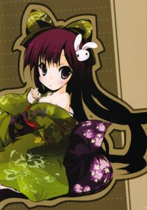 Rating: Safe Score: 8 Tags: kimono shinkichi. usadama User: MirrorMagpie