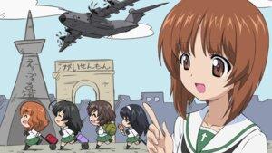 Rating: Safe Score: 14 Tags: akiyama_yukari chibi girls_und_panzer isuzu_hana nishizumi_miho reizei_mako seifuku takebe_saori wallpaper User: Radioactive