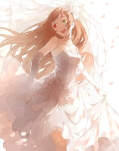 Rating: Safe Score: 37 Tags: cleavage dress heterochromia nine rozen_maiden suiseiseki wedding_dress User: Radioactive