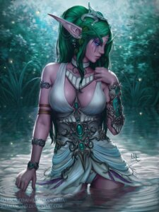 Rating: Questionable Score: 33 Tags: dress elf mirco_cabbia no_bra pantsu pointy_ears tyrande_whisperwind watermark wet world_of_warcraft User: Keethaux