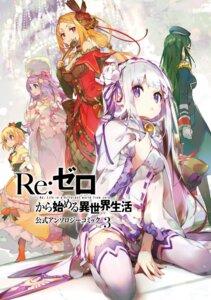 Rating: Safe Score: 24 Tags: cleavage dress re_zero_kara_hajimeru_isekai_seikatsu thighhighs uniform User: kiyoe