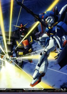 Rating: Safe Score: 10 Tags: abe_shingo gun gundam mecha msz-006a1_zeta_plus psyco_gundam_mark_ii weapon zeta_gundam User: drop