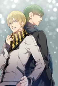 Rating: Safe Score: 4 Tags: kise_ryouta kuroko_no_basket male megane midorima_shintarou tayuya1130 User: charunetra