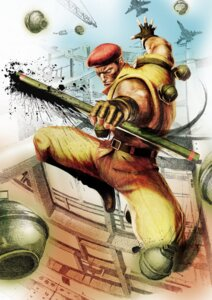Rating: Safe Score: 3 Tags: capcom male rolento_f._schugerg street_fighter street_fighter_iv weapon User: Yokaiou