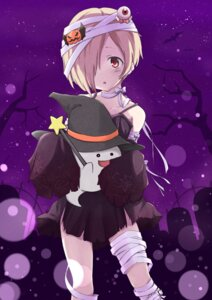 Rating: Safe Score: 35 Tags: bandages dress halloween mokichi812 shirasaka_koume the_idolm@ster the_idolm@ster_cinderella_girls torn_clothes User: Mr_GT